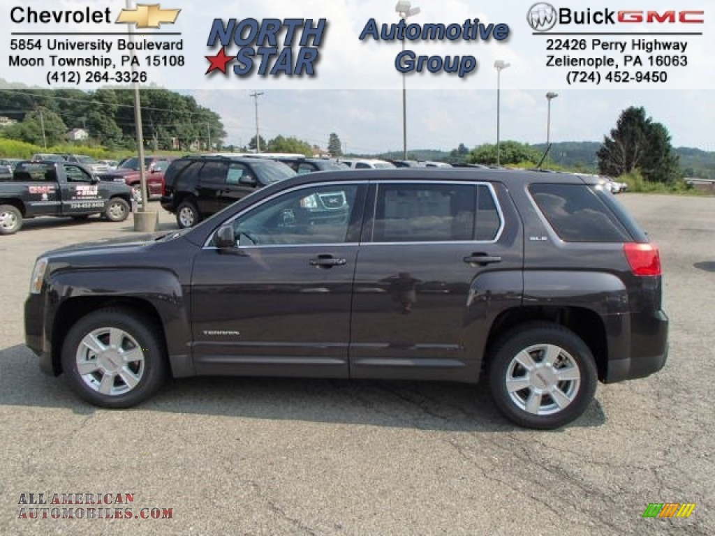 2013 Gmc Terrain Sle In Iridium Metallic 430429 All