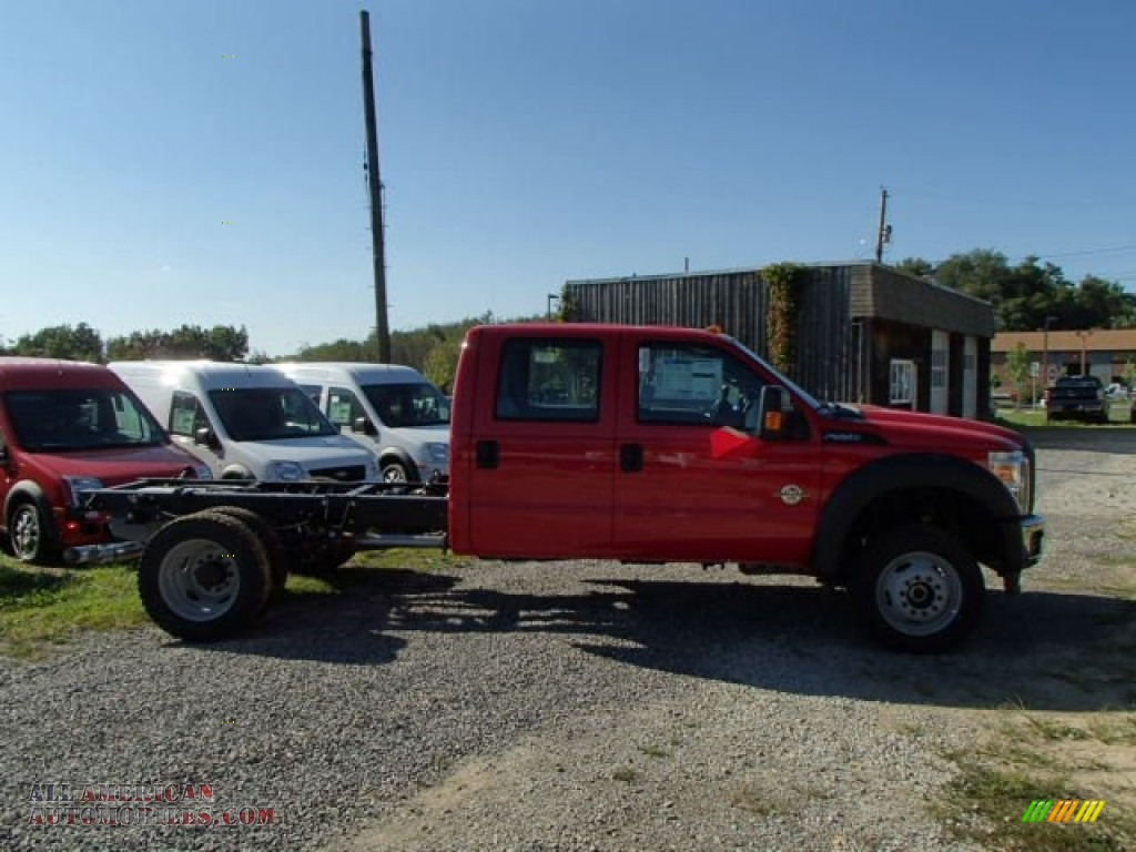 2014 Ford F550 Super Duty Xl Crew Cab 4x4 Chassis In