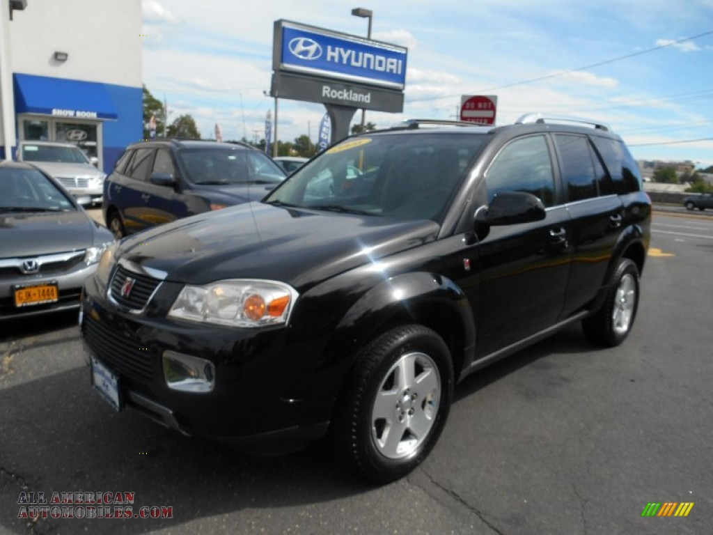 2006 VUE V6 AWD - Black Onyx / Gray photo #1