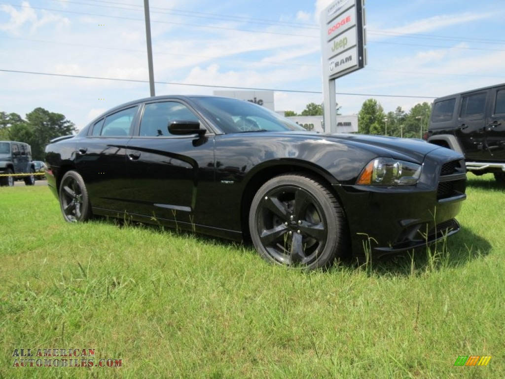 2014 dodge charger r t plus in pitch black 115756 all american automobiles buy american. Black Bedroom Furniture Sets. Home Design Ideas