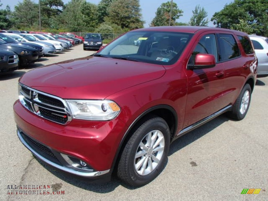 2014 dodge durango sxt awd in deep cherry red crystal pearl photo 2 267430 all american. Black Bedroom Furniture Sets. Home Design Ideas
