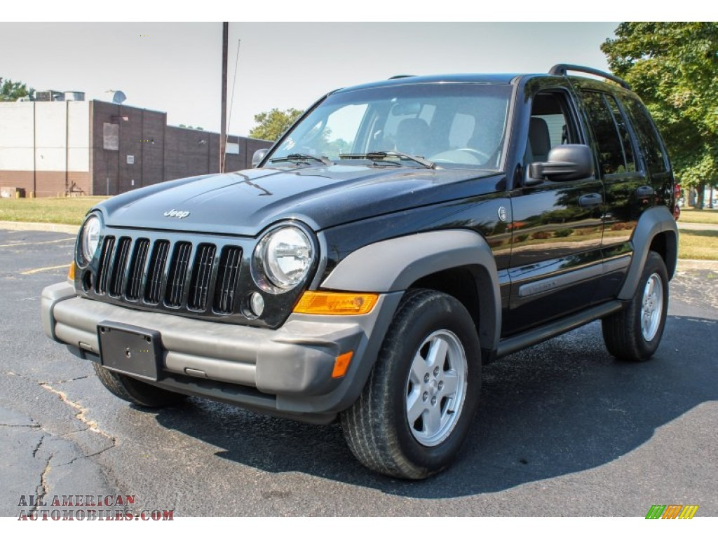 Ron Lewis Chrysler Dodge Jeep Ram Pleasant Hills >> 2005 Jeep Liberty Sport 4x4 in Black Clearcoat - 552275   All American Automobiles - Buy ...