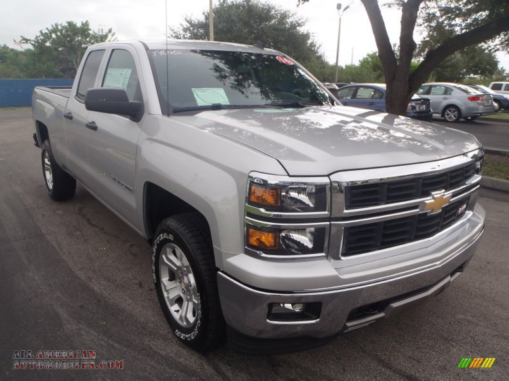 2014 chevrolet silverado 1500 ltz z71 double cab 4x4 in silver ice metallic photo 4 125691. Black Bedroom Furniture Sets. Home Design Ideas