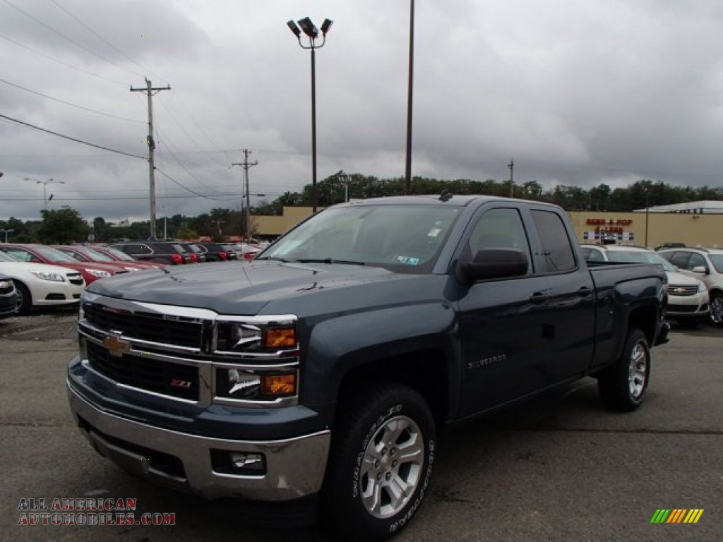 2014 chevrolet silverado 1500 ltz z71 double cab 4x4 in blue granite metallic photo 13 108853. Black Bedroom Furniture Sets. Home Design Ideas