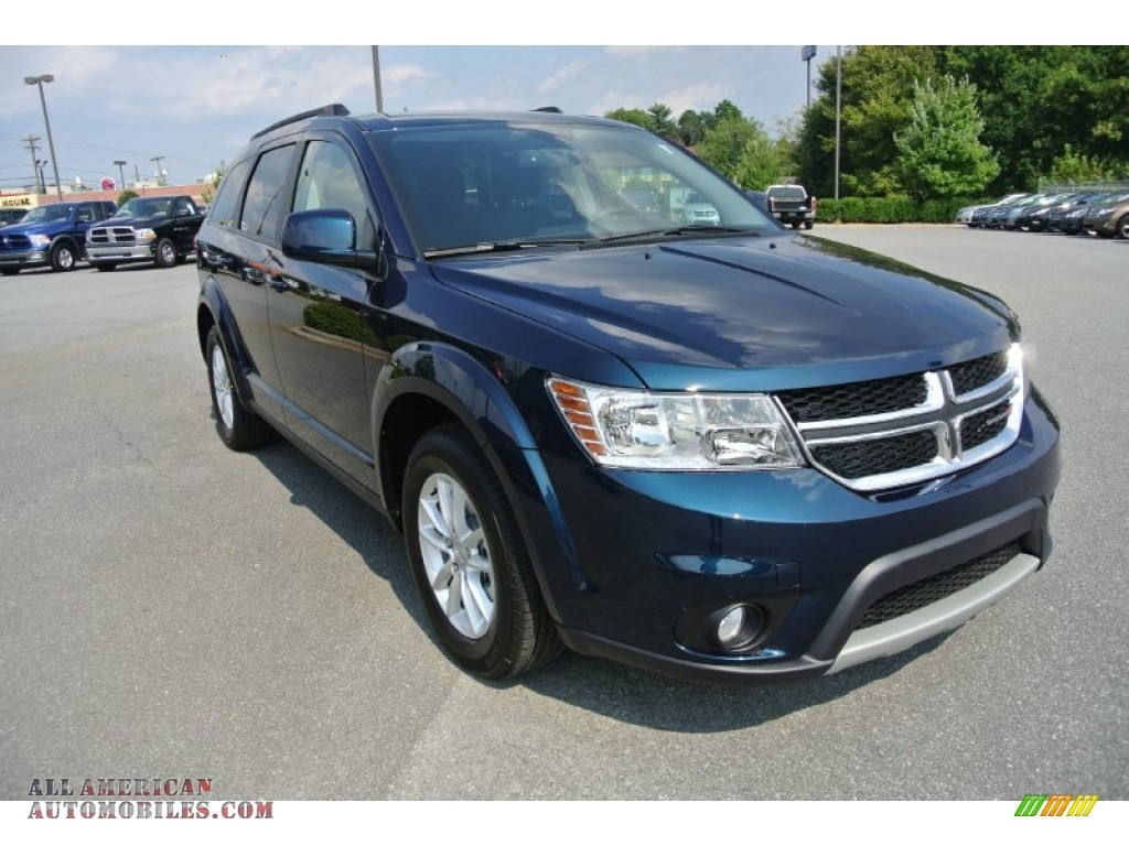 Pine Belt Cadillac >> 2014 Dodge Journey SXT in Fathom Blue Pearl photo #2 ...
