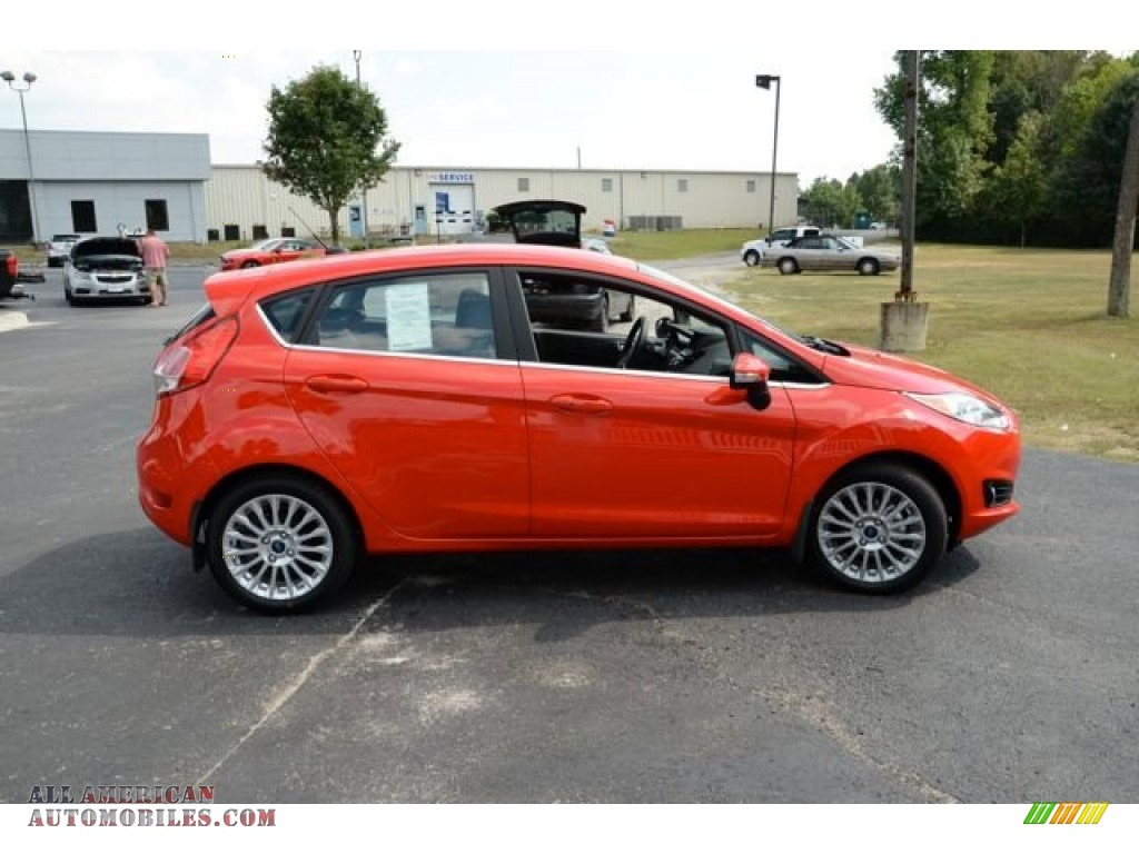 2014 ford fiesta titanium hatchback in race red photo 4 134734 all american automobiles. Black Bedroom Furniture Sets. Home Design Ideas