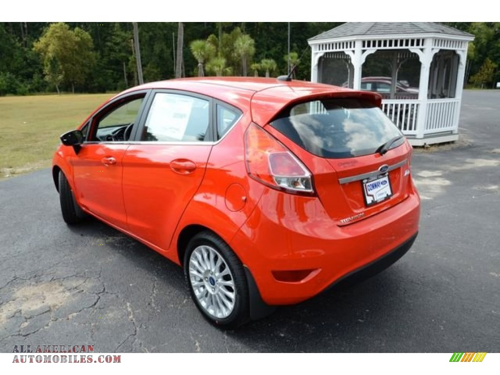 2014 ford fiesta titanium hatchback in race red photo 7. Black Bedroom Furniture Sets. Home Design Ideas