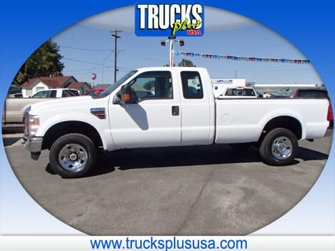 Oxford White Ford F250 Super Duty XL SuperCab 4x4 for sale | All
