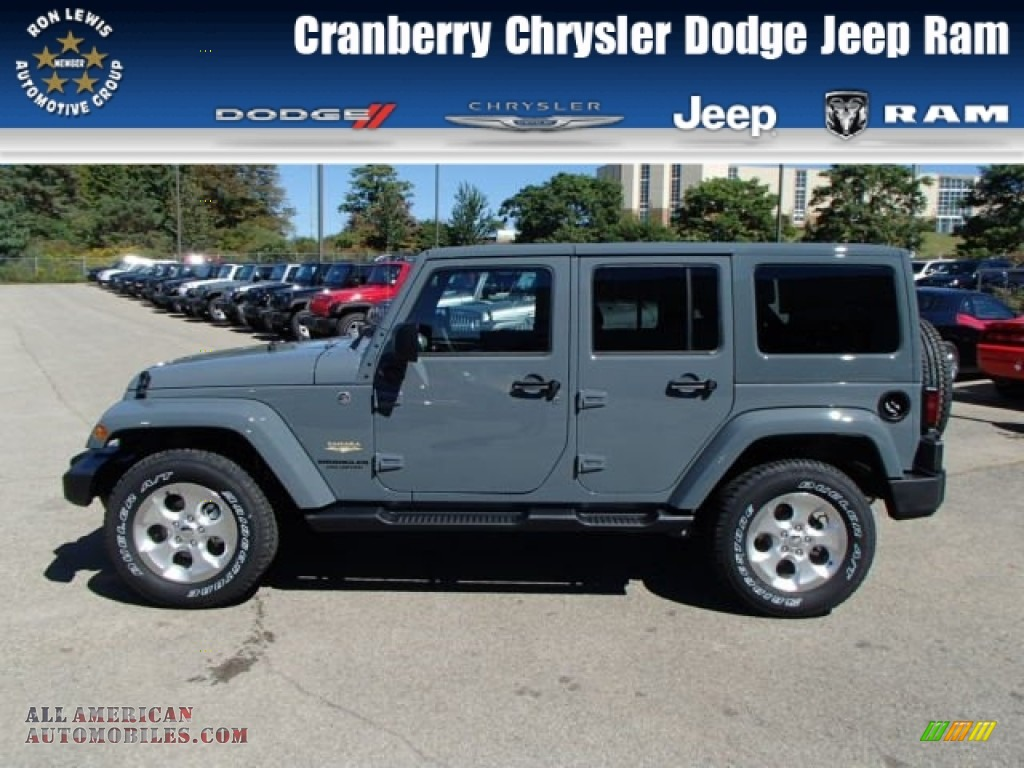 Ron Lewis Dodge >> 2014 Jeep Wrangler Unlimited Sahara 4x4 in Anvil photo #8 - 123070 | All American Automobiles ...