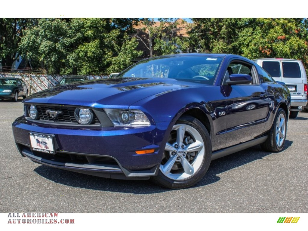 2012 ford mustang gt premium coupe in kona blue metallic 248181 all american automobiles. Black Bedroom Furniture Sets. Home Design Ideas