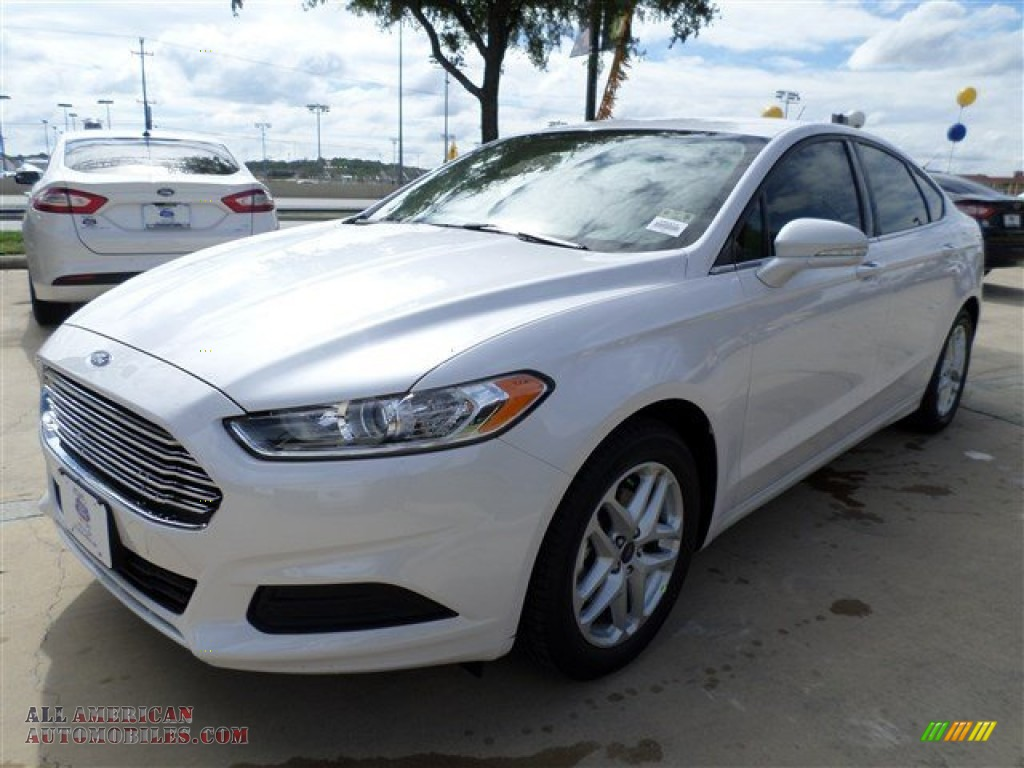 2014 ford fusion se ecoboost in white platinum 141718 all american automobiles buy. Black Bedroom Furniture Sets. Home Design Ideas