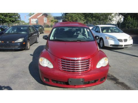 Inferno Red Crystal Pearl 2006 Chrysler PT Cruiser