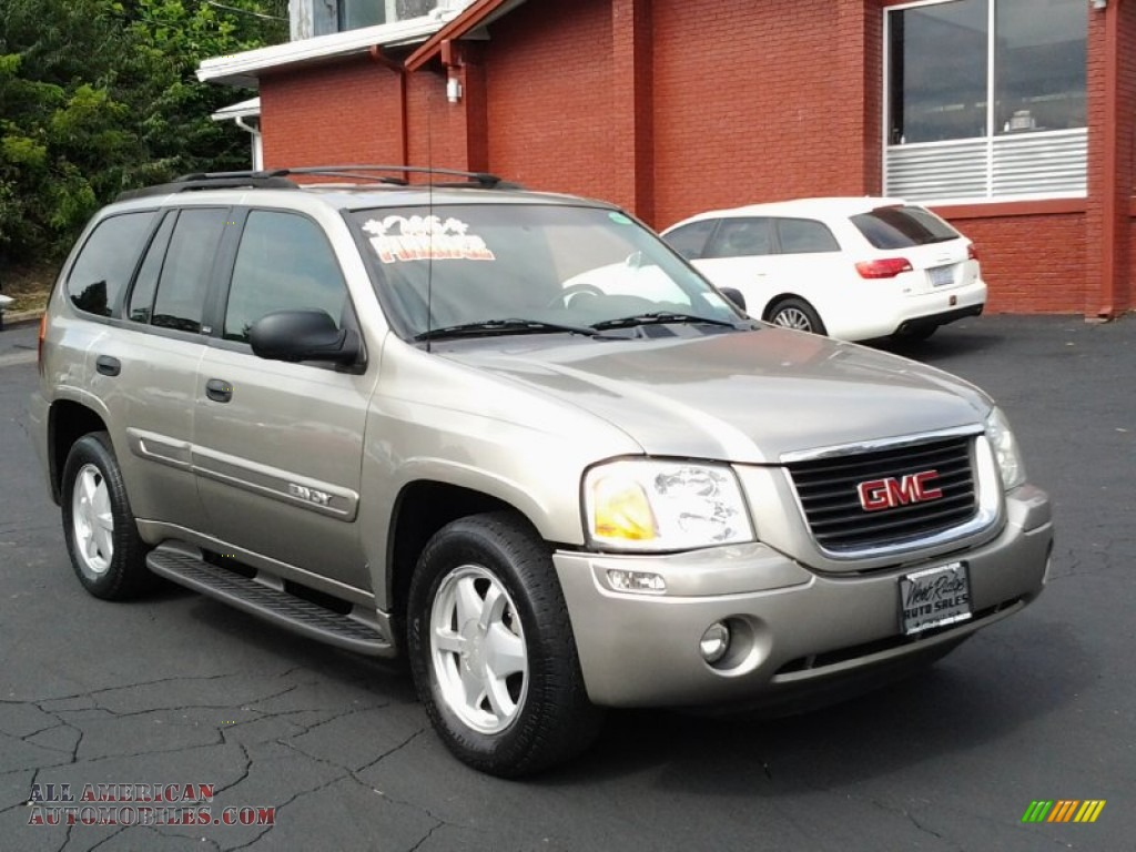 2003 gmc envoy sle 4x4 in sandalwood metallic 172491. Black Bedroom Furniture Sets. Home Design Ideas