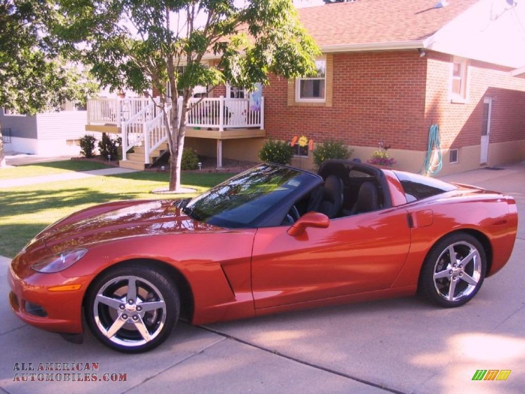 2005 Chevrolet Corvette Coupe In Daytona Sunset Orange