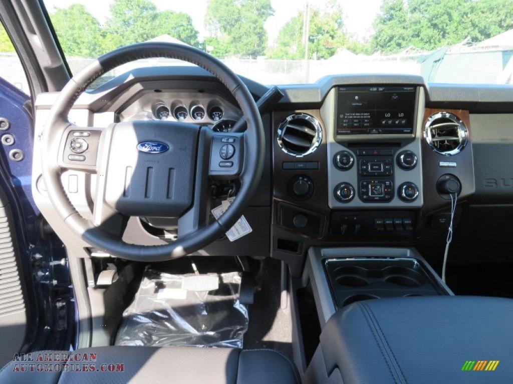 2014 Ford F350 Super Duty Lariat Crew Cab 4x4 Dually In Blue Jeans F 350 Metallic Black Photo