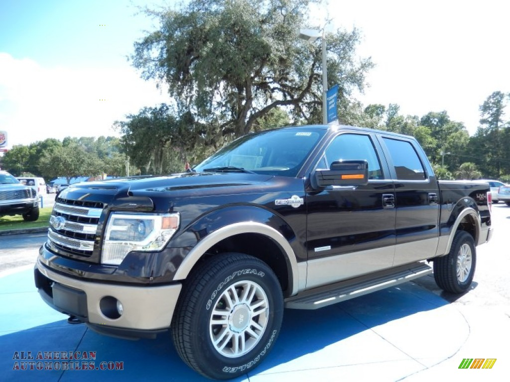 2013 ford f150 king ranch supercrew 4x4 in kodiak brown metallic f83457 all american. Black Bedroom Furniture Sets. Home Design Ideas
