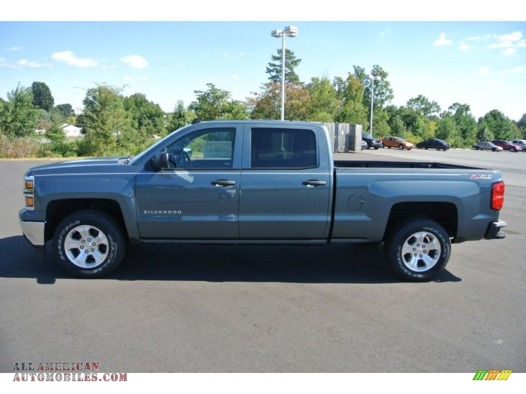 2014 chevrolet silverado 1500 lt z71 crew cab 4x4 in blue. Black Bedroom Furniture Sets. Home Design Ideas
