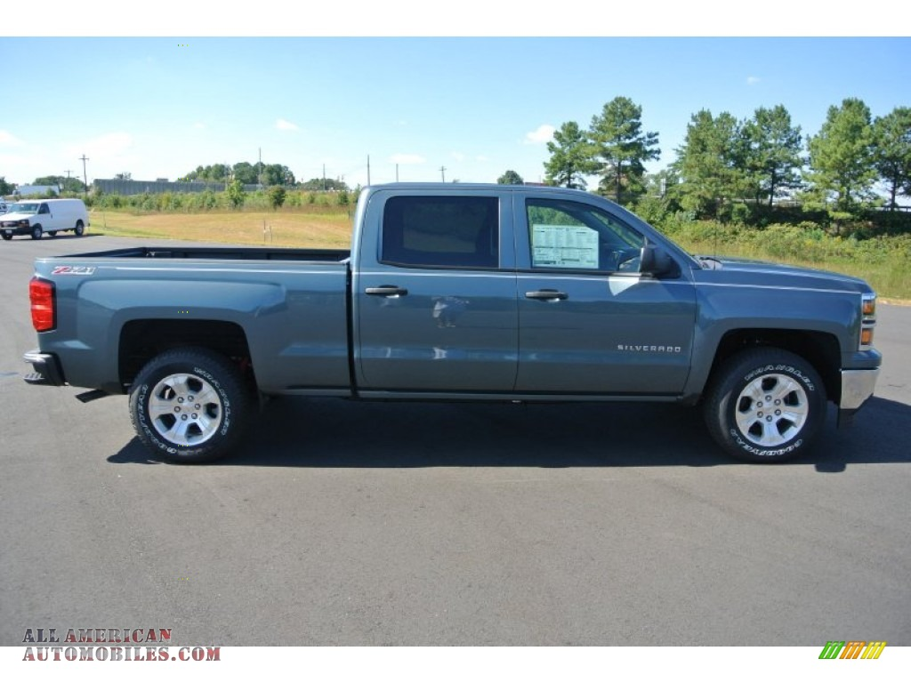 2014 chevrolet silverado 1500 lt z71 crew cab 4x4 in blue granite metallic photo 6 225787. Black Bedroom Furniture Sets. Home Design Ideas