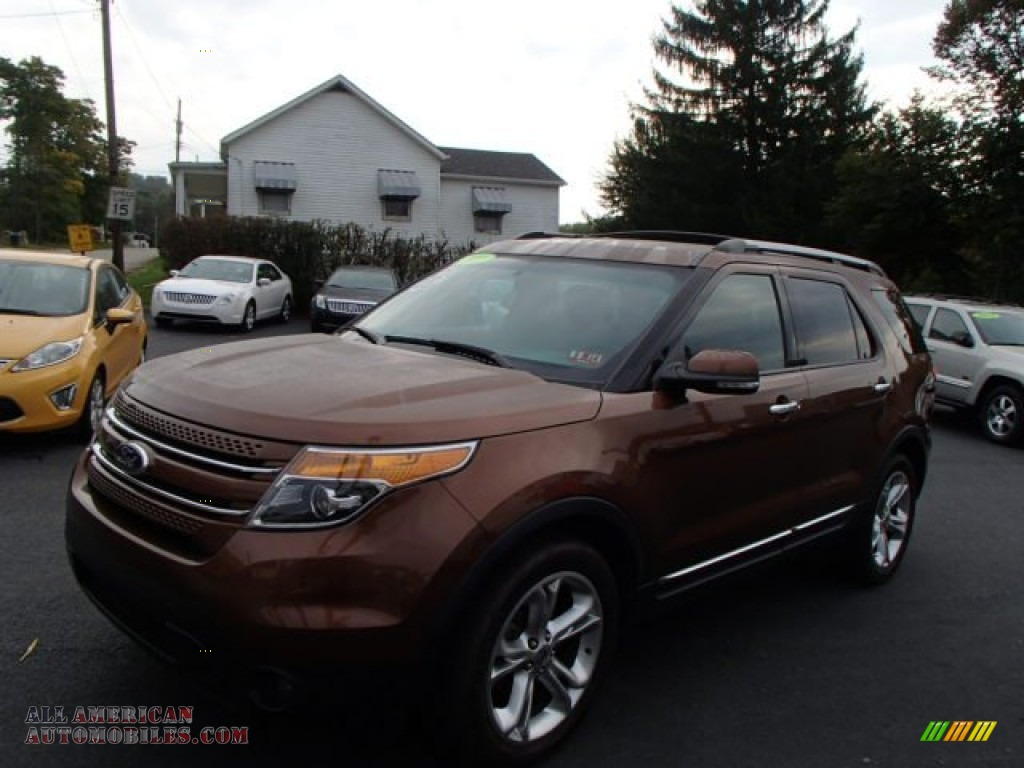 2011 Explorer Limited 4WD - Golden Bronze Metallic / Pecan/Charcoal