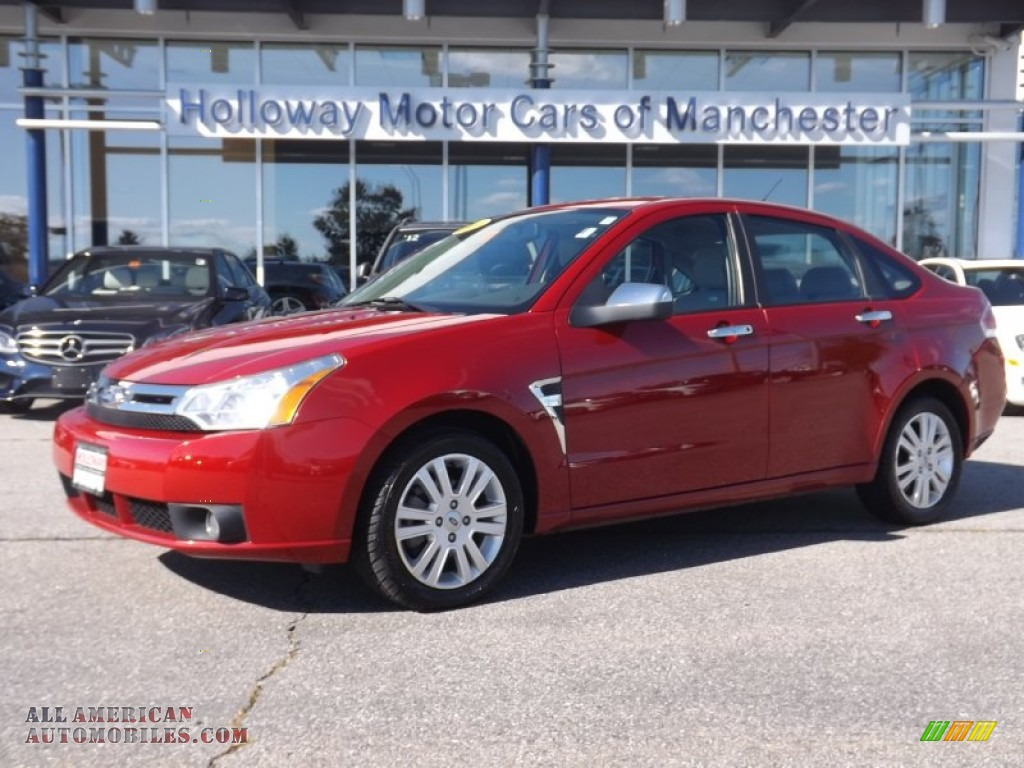 2009 ford focus sel sedan in sangria red metallic 173902 for Holloway motor cars manchester