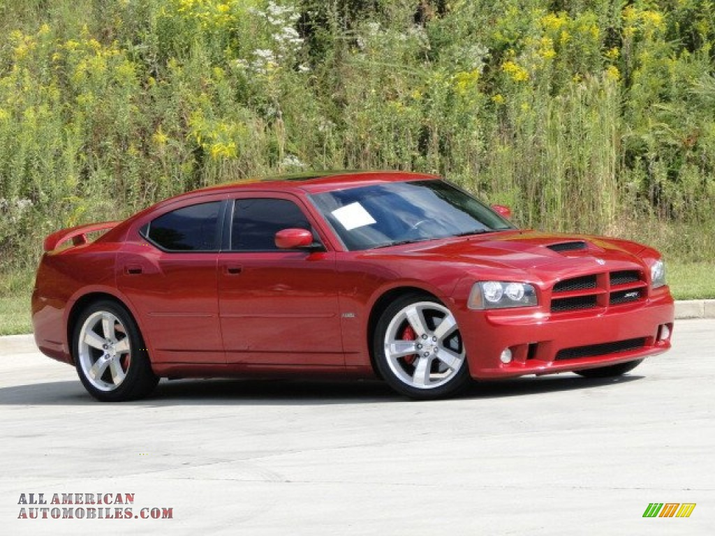 2006 Dodge Charger SRT-8 in Inferno Red Crystal Pearl photo