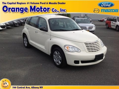 Stone White 2008 Chrysler PT Cruiser LX