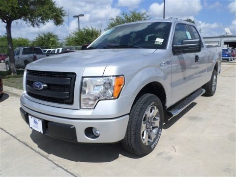 Ingot Silver Metallic Ford F150 STX SuperCab for sale