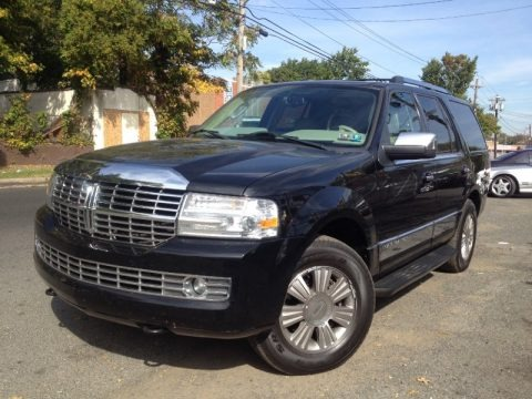 Black 2007 Lincoln Navigator Ultimate 4x4