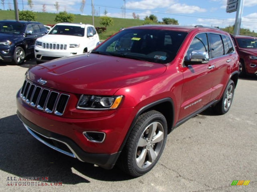 2014 Jeep Grand Cherokee Limited 4x4 In Deep Cherry Red