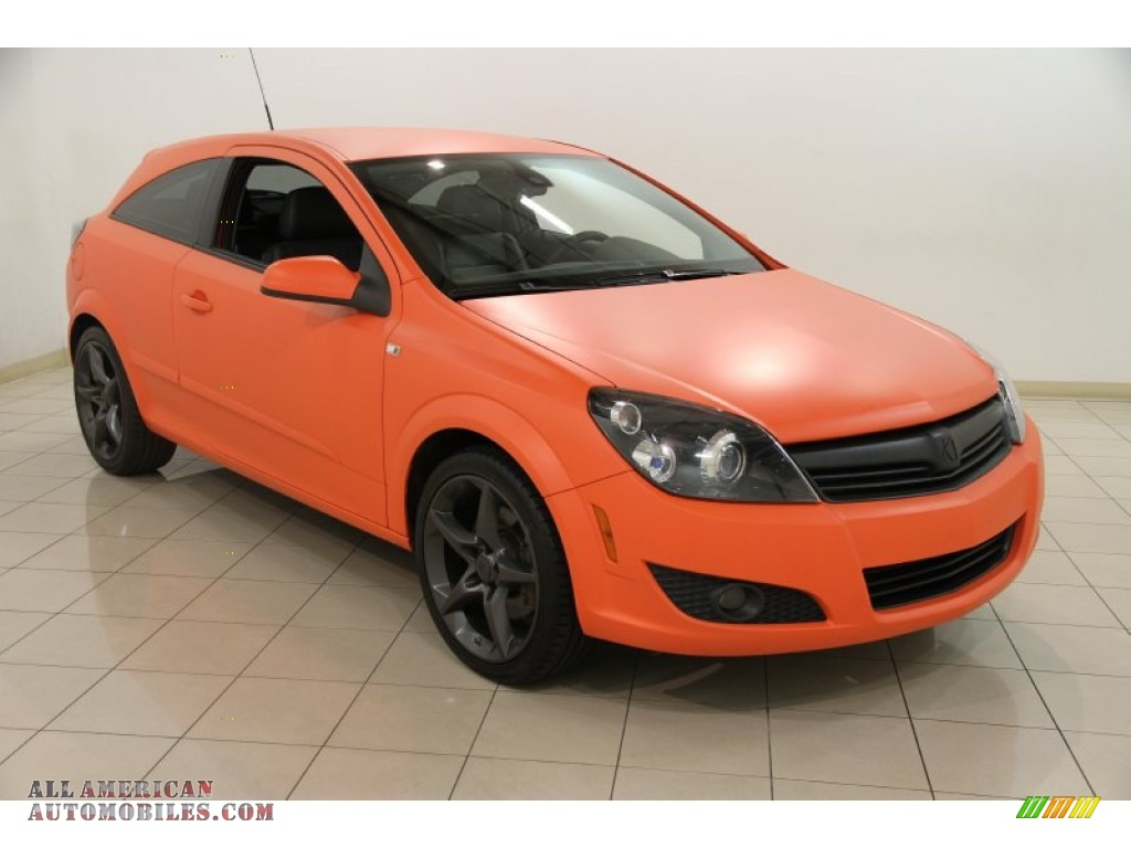 2008 saturn astra xr coupe in matte orange photo 3 038214 all american automobiles buy. Black Bedroom Furniture Sets. Home Design Ideas