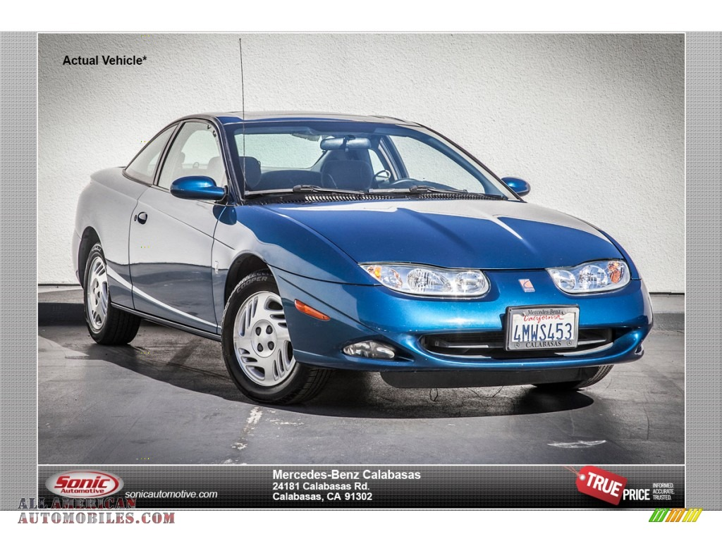 2001 saturn s series sc2 coupe in blue 205118 all for Mercedes benz of calabasas