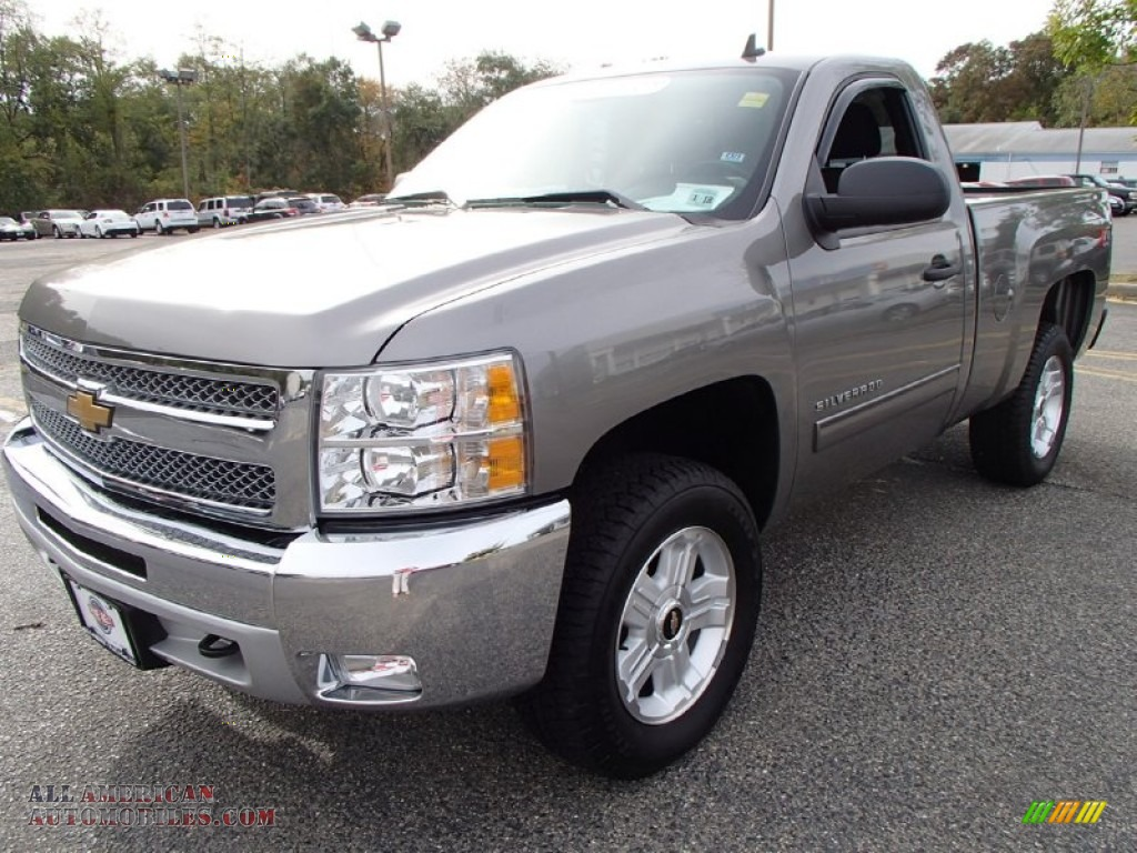 2012 chevrolet silverado 1500 lt regular cab 4x4 in graystone metallic 336213 all american. Black Bedroom Furniture Sets. Home Design Ideas
