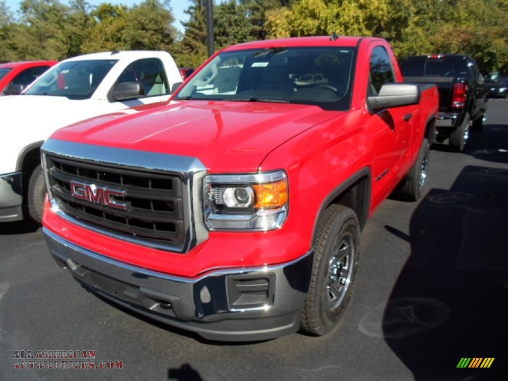 2014 gmc sierra 1500 regular cab 4x4 in fire red photo 4 146061 all american automobiles. Black Bedroom Furniture Sets. Home Design Ideas