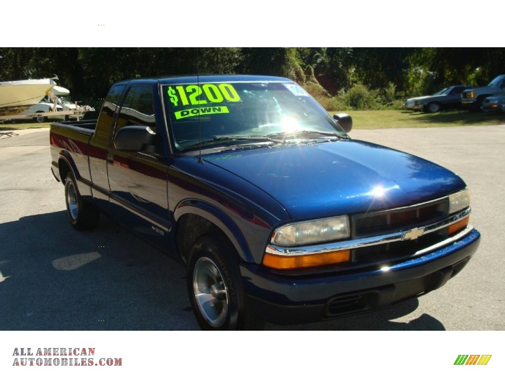 2000 chevrolet s10 ls extended cab in indigo blue metallic photo 3 263602 all american. Black Bedroom Furniture Sets. Home Design Ideas