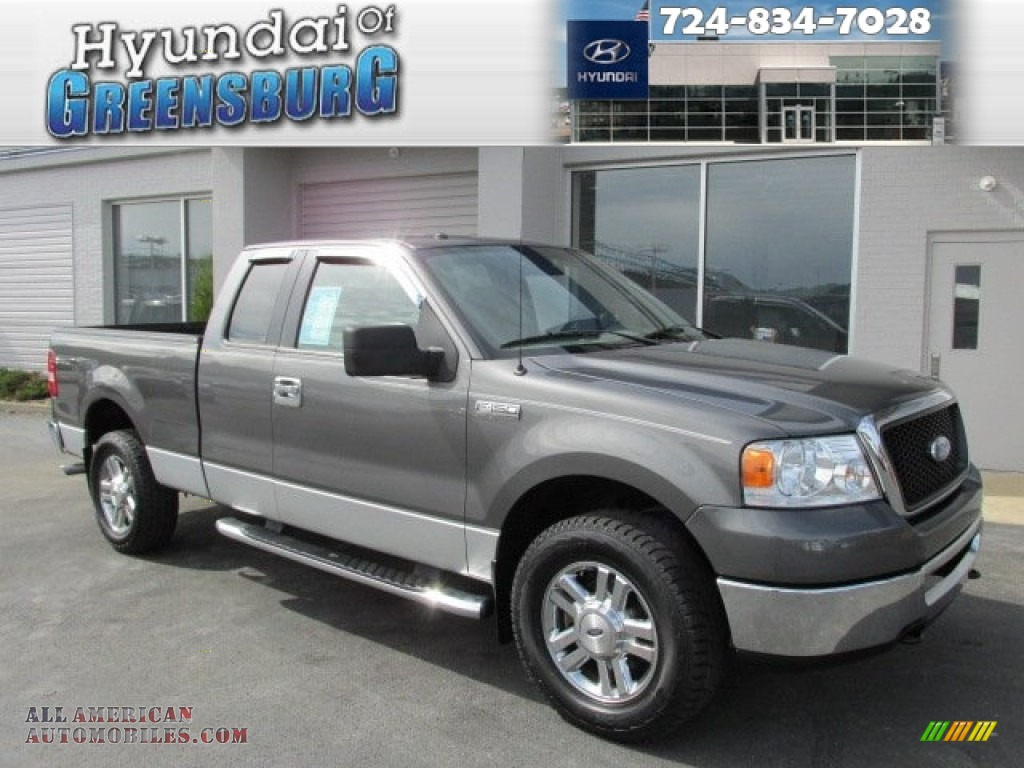 Ford ford 2006 f150 : 2006 Ford F150 XLT SuperCab 4x4 in Dark Shadow Grey Metallic ...