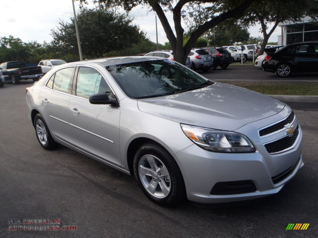 2013 Chevrolet Malibu LS in Silver Ice Metallic - 348838 ...