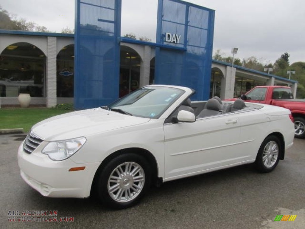 2008 chrysler sebring touring convertible in stone white for Steve white motors inc