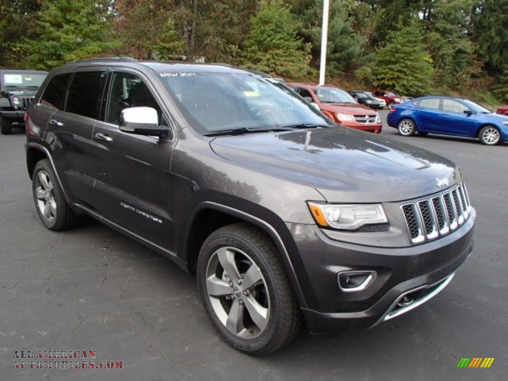 Ron Lewis Jeep >> 2014 Jeep Grand Cherokee Overland 4x4 in Granite Crystal Metallic photo #4 - 137664 | All ...