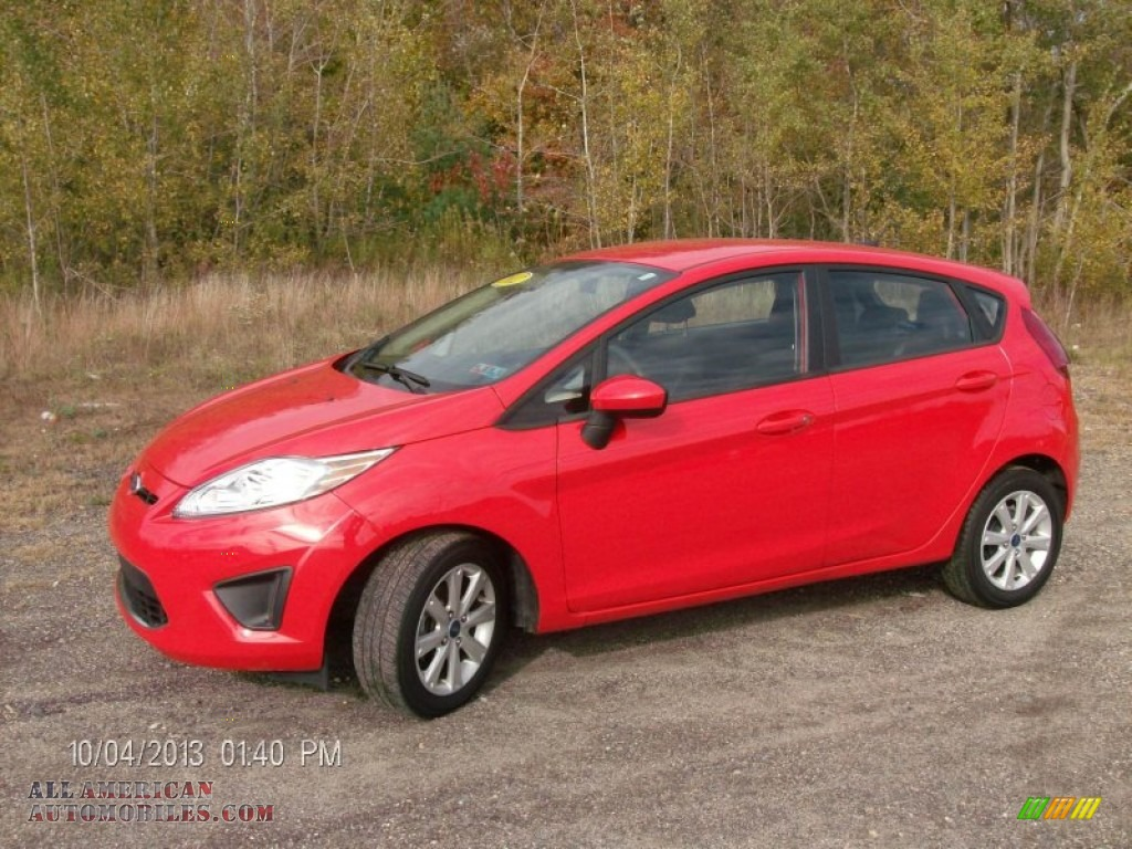 2012 ford fiesta se hatchback in race red 216711 all american automobiles buy american. Black Bedroom Furniture Sets. Home Design Ideas