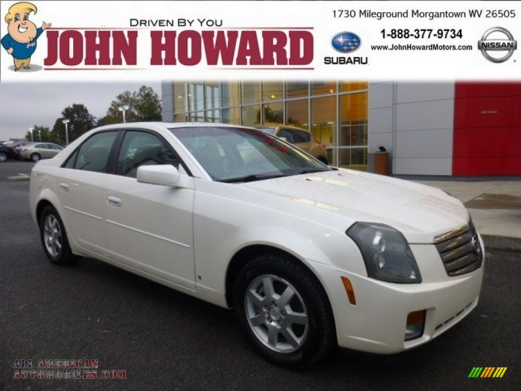 2006 cadillac cts sport sedan in white diamond 117896 for Mileground motors in morgantown wv