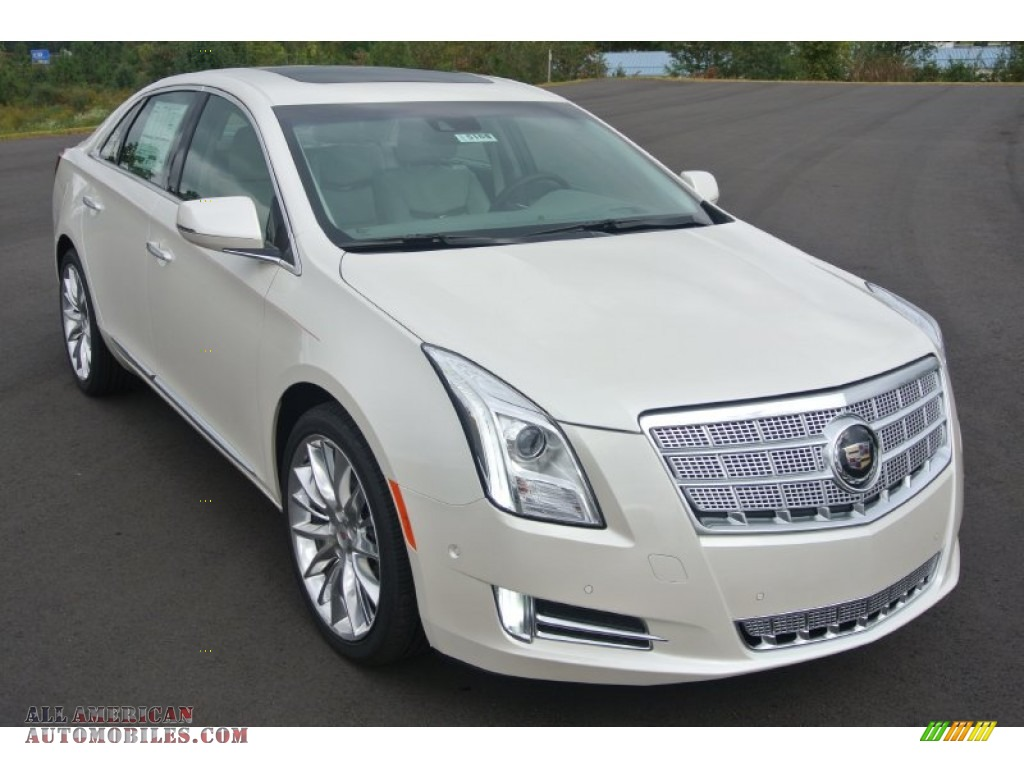 2014 cadillac xts platinum fwd in white diamond tricoat 162839 all american automobiles. Black Bedroom Furniture Sets. Home Design Ideas