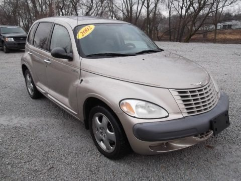 Taupe Frost Metallic 2002 Chrysler PT Cruiser Limited