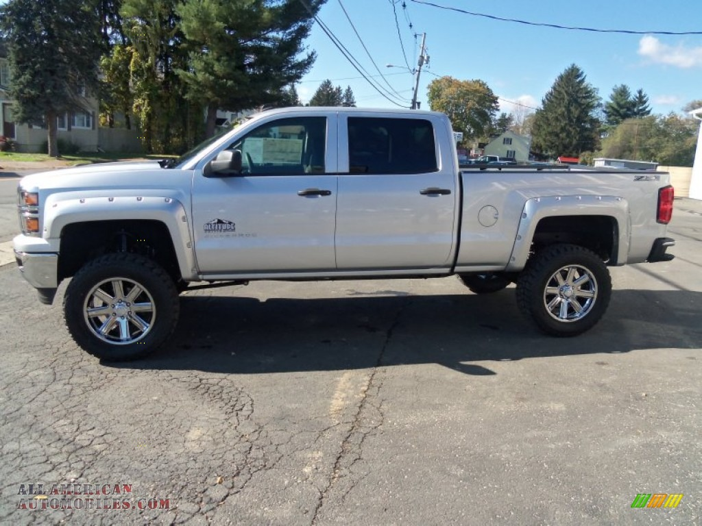 2014 chevrolet silverado 1500 lt z71 crew cab 4x4 in silver ice metallic photo 6 207902 all. Black Bedroom Furniture Sets. Home Design Ideas
