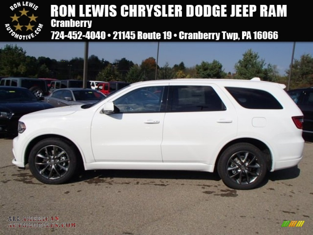 2014 dodge durango r t awd in bright white 314117 all american automobiles buy american. Black Bedroom Furniture Sets. Home Design Ideas