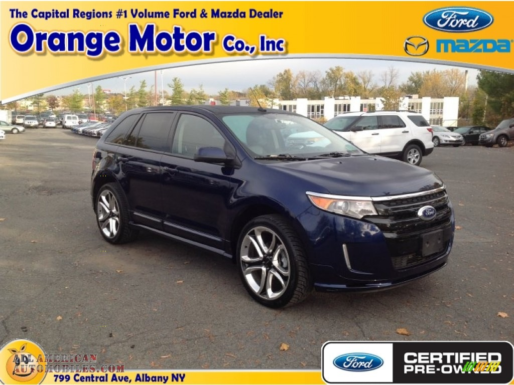 2011 ford edge sport awd in kona blue metallic photo 11 for Orange motors albany new york