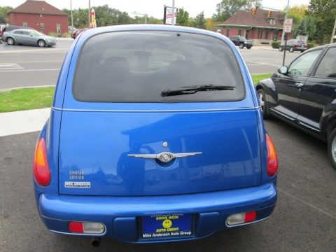 Electric Blue Pearlcoat 2004 Chrysler PT Cruiser Limited