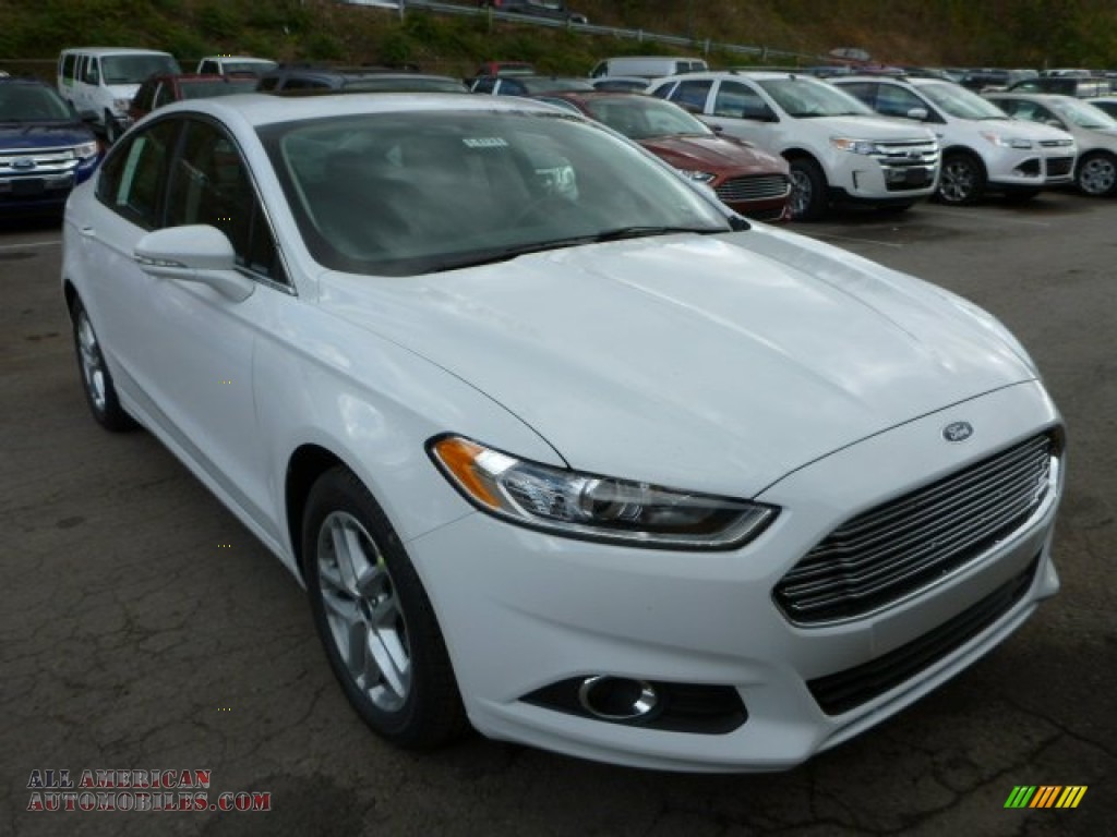2014 ford fusion se ecoboost in oxford white 174759 all american automobiles buy american. Black Bedroom Furniture Sets. Home Design Ideas