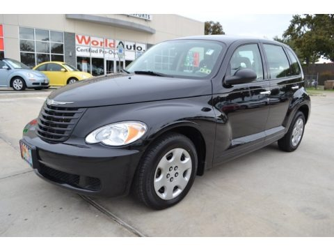 Brilliant Black Crystal Pearl 2009 Chrysler PT Cruiser LX