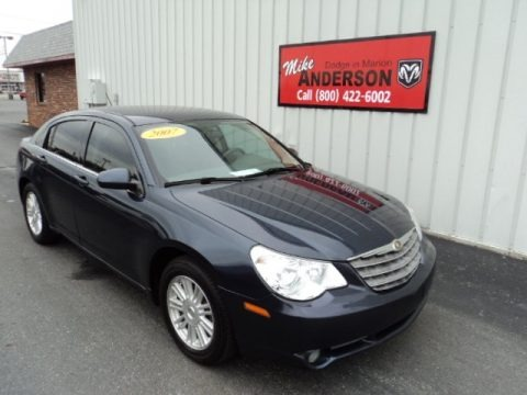 Modern Blue Pearl 2007 Chrysler Sebring Touring Sedan