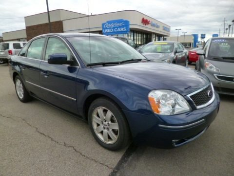 Dark Blue Pearl Metallic 2005 Ford Five Hundred SEL